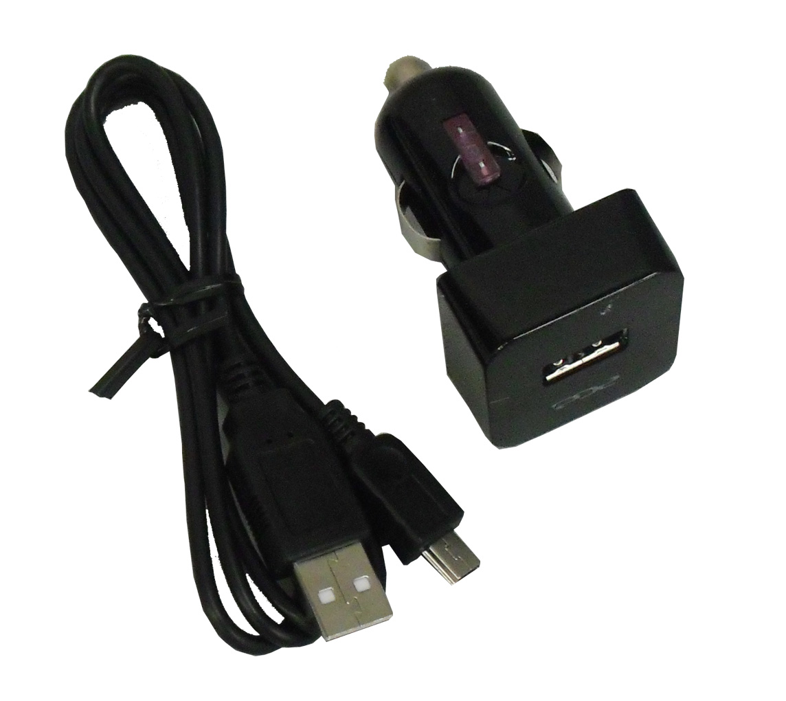 ACE Cigar Plug Charger with Micro USB Cable