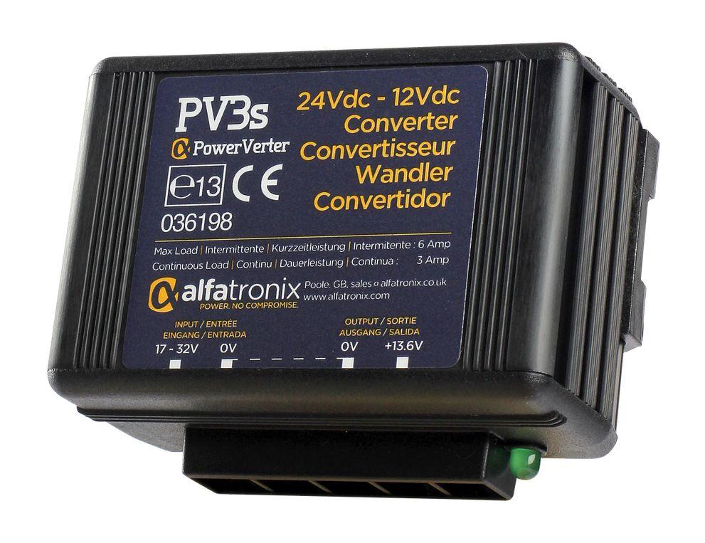 PV3s 24v-12v DC Voltage Dropper